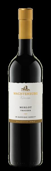 Merlot Premium Wachtenburg trocken - im Barrique gereift