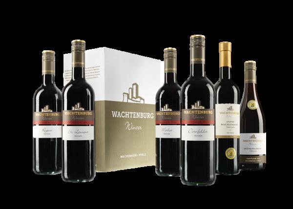 6er Rotwein-Probierpaket trocken